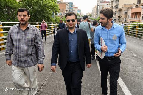 حضور علیاکبر رائفیپور در راهپیمایی روز جهانی قدس ۹۸ تهران