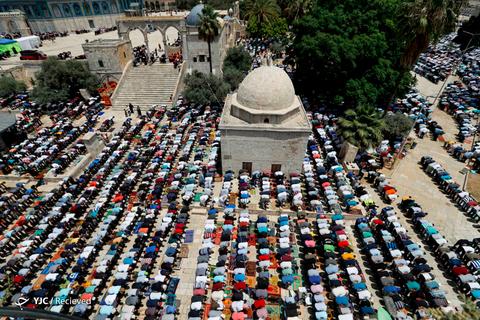روز قدس در مسجد الاقصی