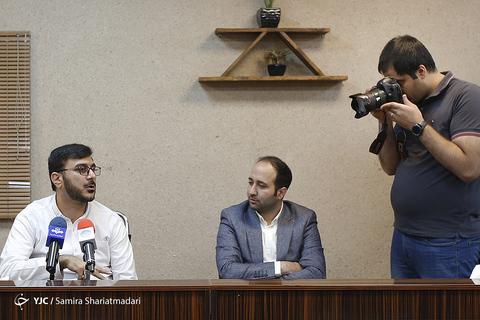 محمدرضا شفیعی تهیه کننده در نشست خبری سریال برادرجان