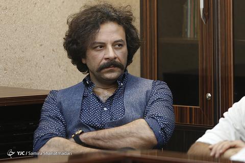 حسام منظور بازیگر نقش چاووش در نشست خبری سریال برادرجان
