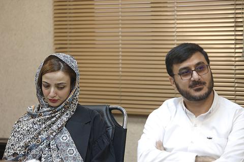 محمدرضا شفیعی و ندا جبرائیلی در نشست خبری سریال برادرجان