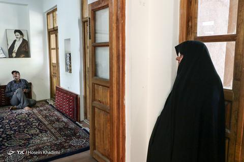 سالگرد ارتحال امام خمینی (ره) در بیت امام راحل در شهر خمین