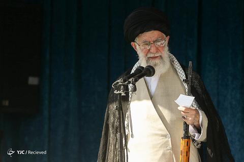 اقامه نماز عیدسعیدفطر به امامت رهبر انقلاب