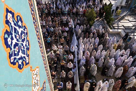 اقامه نماز عیدسعیدفطر در کرج