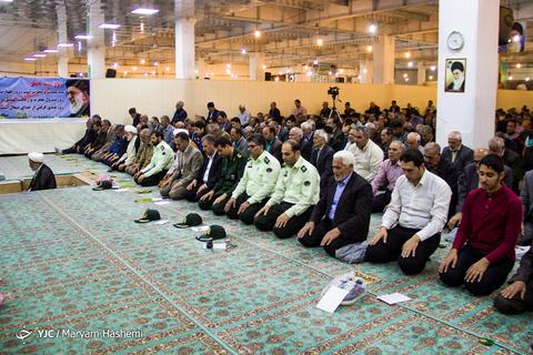 اقامه نماز عیدسعیدفطر در مصلی شهر خلخال