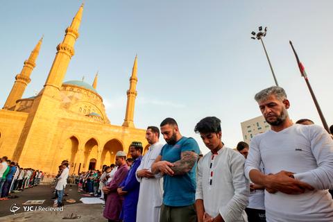 عید سعید فطر در لبنان
