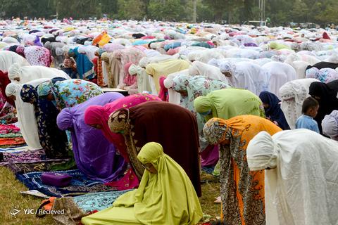 عید سعید فطر در اندونزی