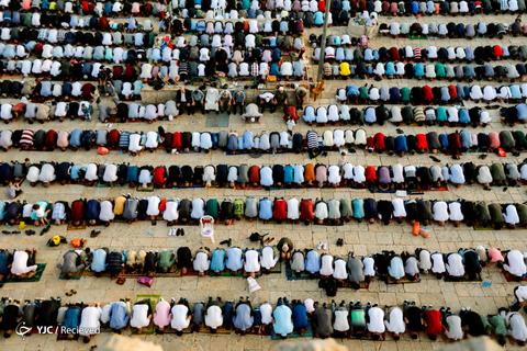 عید سعید فطر در فلسطین