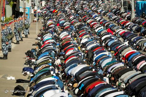 عید سعید فطر در مسکو