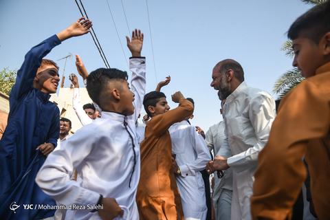 عیدسعیدفطر در منطقه کوت عبدل اله (کارون) از توابع اهواز