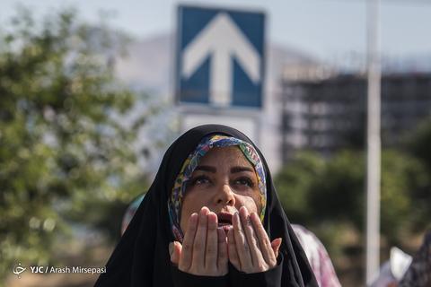 اقامه نماز عیدسعیدفطر در شهرک اکباتان تهران