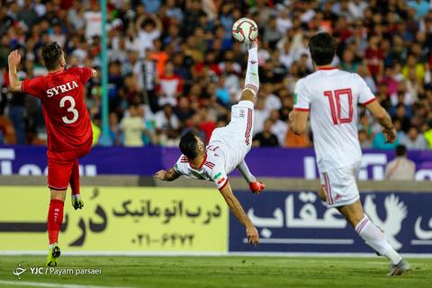 بازی تدارکاتی تیمهای ملی فوتبال ایران و سوریه