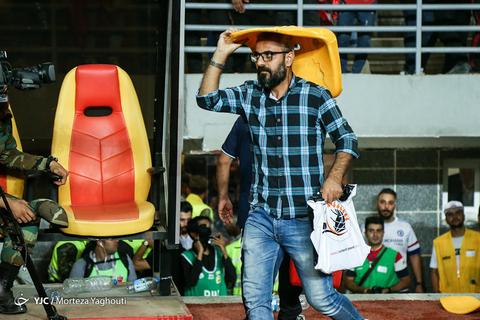 در حاشیه بازی فینال جام حذفی/ پرسپولیس - داماش گیلان در شهر اهواز