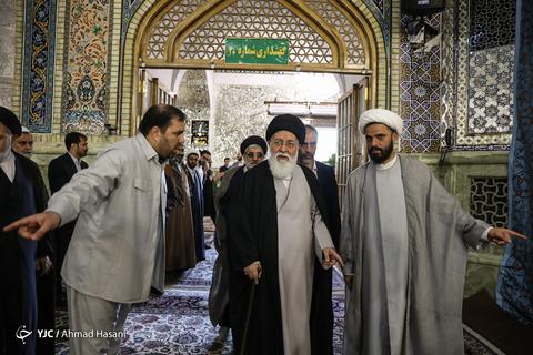 در حاشیه سالگرد ارتحال امام خمینی (ره) در حرم مطهر رضوی