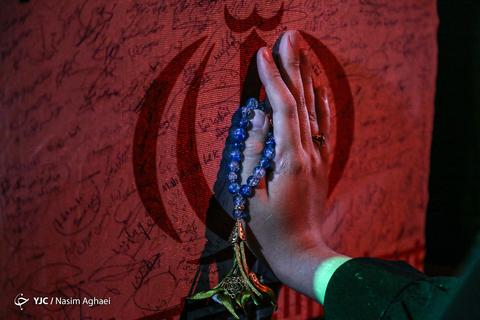 شب وداع با ماه رمضان در معراج شهداء