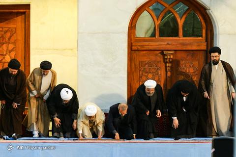 در حاشیه مراسم سی امین سالگرد ارتحال امام خمینی(ره)