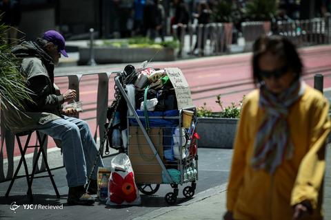 بیخانمانی در آمریکا
