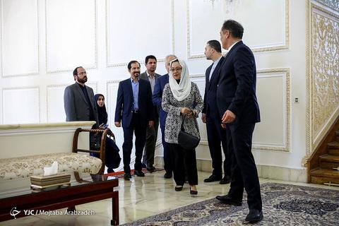 دیدار ظریف با دبیرکل سازمان ملل در امور اسکاپ