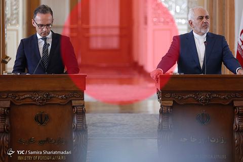 در حاشیه دیدار وزرای خارجه ایران و آلمان