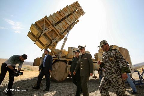 رونمائی سامانه پدافند «۱۵ خرداد» توسط متخصصان وزارت دفاع