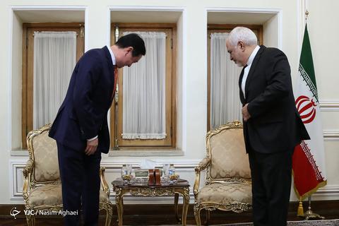 دیدار وزرای خارجه ژاپن و ایران