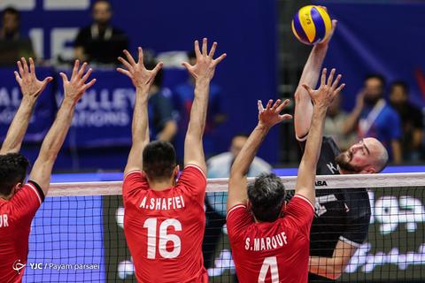 لیگ والیبال ملتها/ ایران - کانادا