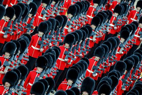 رژه روز تولد ملکه در لندن