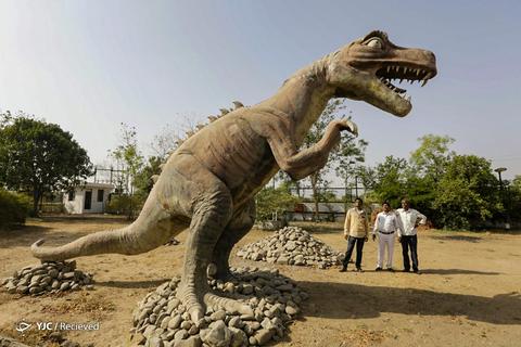 افتتاح موزه دایناسور در ایالت گجرات، هند