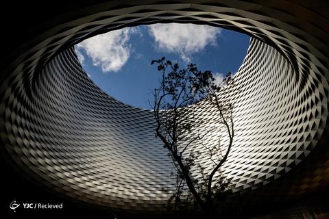 نمایشگاه هنری طراحی شده توسط معماران در بازل، سوئیس