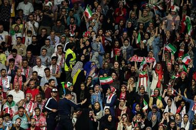 لیگ والیبال ملتها/ ایران - لهستان