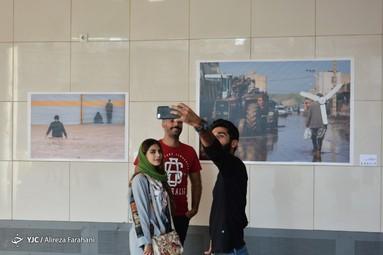 نمایشگاه عکس «خانهای که سیل برد ، مهری که سیل آورد»