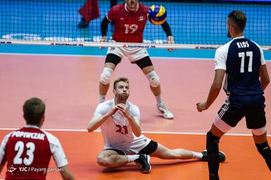 لیگ والیبال ملتها/ لهستان ۳ - کانادا ۱