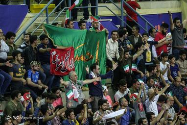 لیگ والیبال ملتها/ ایران - استرالیا