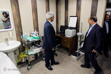 افتتاح کلینیک جانبازان شیمیایی - 7
