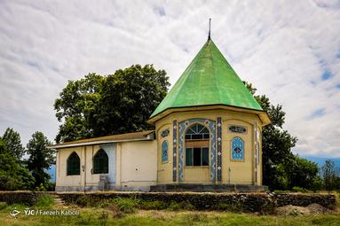 امامزاده علیرضا در روستای سرطاق شهرستان بندرگز استان گلستان