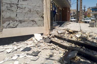 زلزله ۵.۷ ریشتری در استان خوزستان
