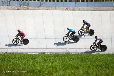 مسابقات دوچرخه سواری قهرمانی کشور پیست آقایان بزرگسالان ( گروه الف )