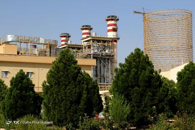 افتتاح بخش بخار نیروگاه سیکل ترکیبی جهرم
