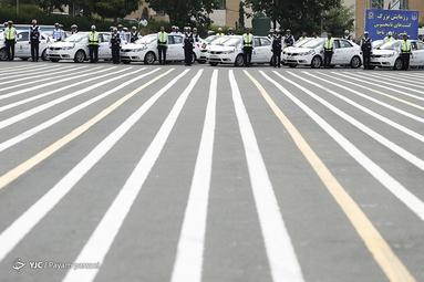 رزمایش گشتهای نامحسوس پلیس راهور