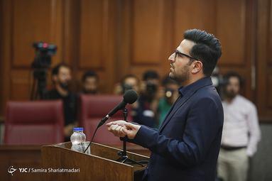 علیرضا ببری داماد محمدعلی نجفی شهردار اسبق تهران در نخستین جلسه دادگاه پرونده قتل میترا استاد