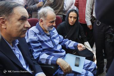 زهرا نجفی دختر محمدعلی نجفی در نخستین دادگاه پرونده قتل میترا استاد