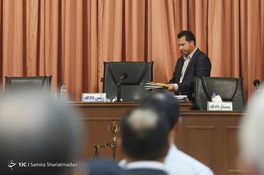 قاضی کشکولی در نخستین جلسه دادگاه پرونده قتل میترا استاد