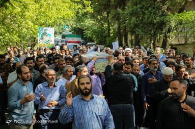 تشییع پیکر شهید مدافع حریم آل الله ابوالفضل سرابیان