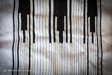 چوقای بافته شده با دستان هنرمند سوسن چراغی، مادری اهل روستای «خویه»
