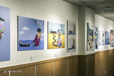 نمایشگاه کاریکاتور ملکه کشتیرُبا