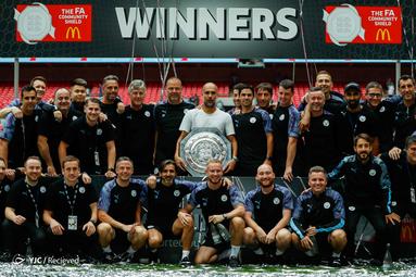 منچستر سیتی فاتح سوپر جام انگلیس