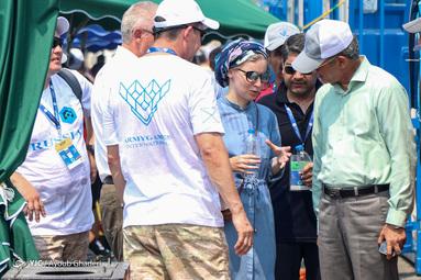 مسابقات غواصی ارتشهای جهان در آب های خلیج فارس - جزیره کیش