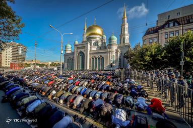 نماز عید قربان در روسیه