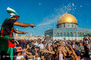 نماز عید قربان در فلسطین اشغالی