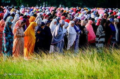 نماز عید قربان در فیلیپین
